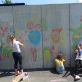 stěna - happy