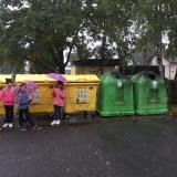 Obecní úřad + recyklujeme 2. třída