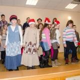 Vystoupení na vánočních trzích 2013