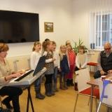 Vánoční zpívání seniorům